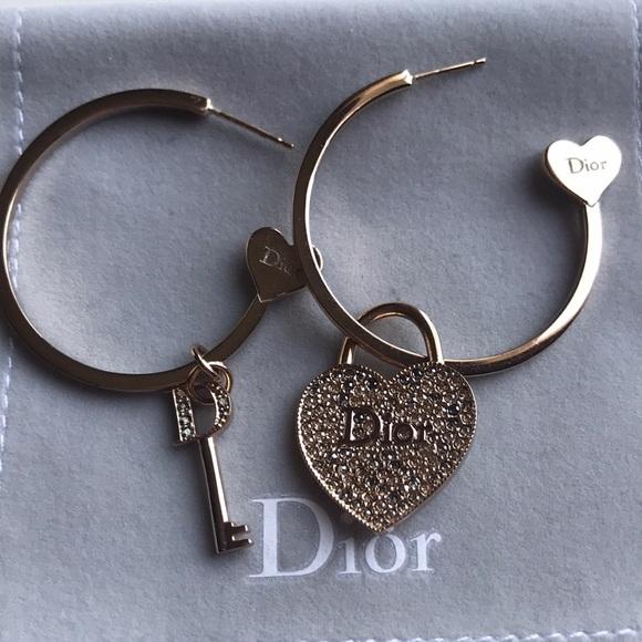 Dior Jewelry - Dior Hoop Earrings